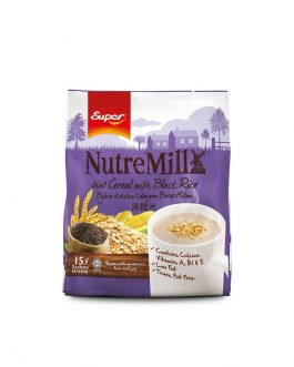 SUPER NUTREMILL 4in1 Cereal with Black Rice (30g x 15's)