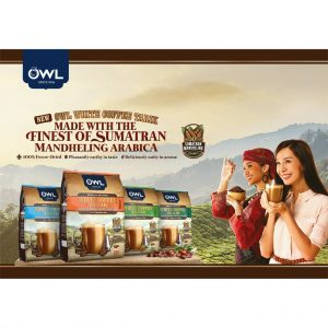 OWL WHITE COFFEE TARIK – Less Sugar