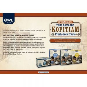 OWL KOPITIAM Roast & Ground Kopi O Kosong
