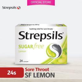 Strepsils Sugar Free Lemon 24's