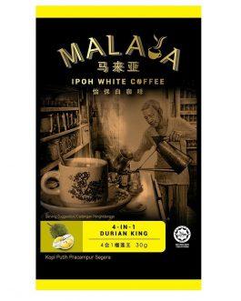 Malaya Ipoh White Coffee 4 In1 Durian King
