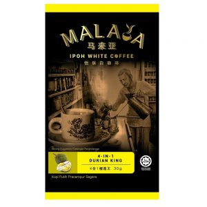 Malaya Ipoh White Coffee 4 In1 Durian King
