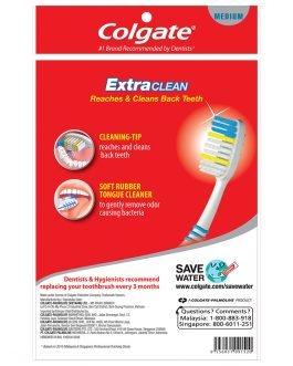Colgate Extra Clean Toothbrush Valuepack 4s (Medium)