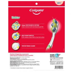 Colgate Twister Toothbrush Valuepack 5s (Soft)