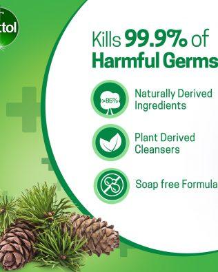 Dettol Hand Wash 250ml x 3units (value pack) Original