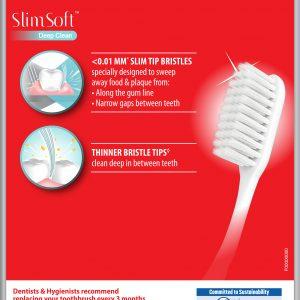 Colgate SlimSoft Deep Clean Toothbrush Valuepack 3s (Soft)