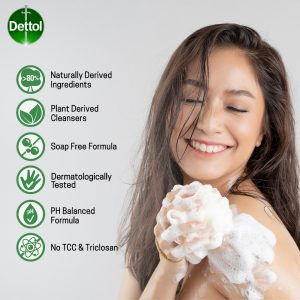 Dettol Shower Gel Re energize Refill Pouch 450ml