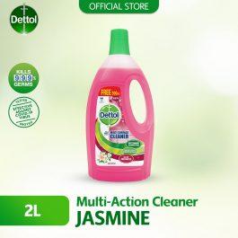 Dettol Multi Action Cleaner 1.5L+FOC 500ml (Jasmine)