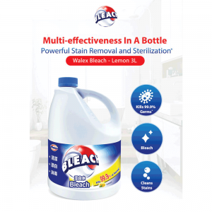 Walex Bleach Liquid Lemon 3L