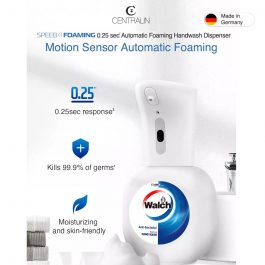 Centralin Foaming Handwash Dispenser + Walch 350ml Antibacterial Foaming Handwash -Refreshing