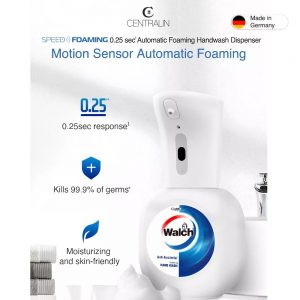 Centralin Foaming Handwash Dispenser + Walch 350ml Antibacterial Foaming Handwash -Refreshing
