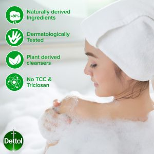 Dettol Body Soap Active 65g X 3s