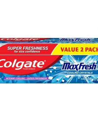 Colgate Max Fresh Toothpaste Valuepack 160g x 2