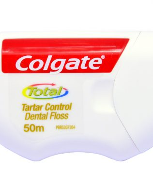 Colgate Dental Floss with Tartar Control 50m