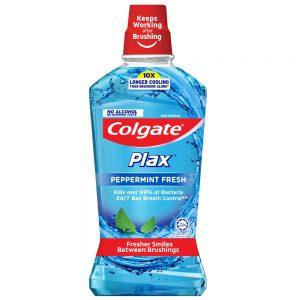 Colgate Plax Peppermint Mouthwash 750ml