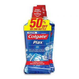 Colgate Plax Ice Mouthwash Valuepack 750ml x 2