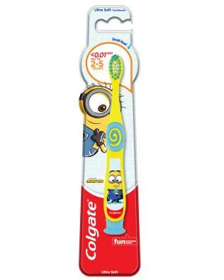 Colgate Kids Minion Toothbrush 2-5 Years (Ultra Soft)