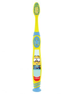 Colgate Kids Minion Toothbrush 5-9 Years (Ultra Soft)