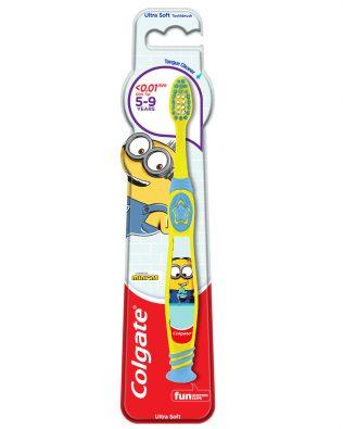 Colgate Kids Minion Toothbrush 5-9 Years (Ultra Soft)