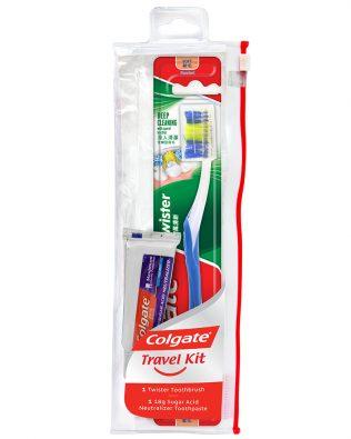 Colgate Twister Travel Kit Valuepack (Soft)