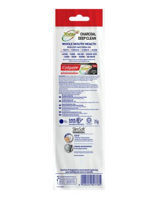 Colgate ZigZag Charcoal Toothbrush 1s (Soft)