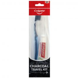 Colgate SlimSoft Charcoal Toothbrush 1s (Ultra Soft)