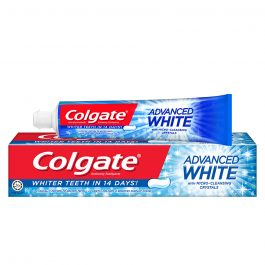 Colgate Advanced White Whitening Toothpaste 90g Travel Sample Trial