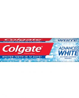 Colgate Advanced White Whitening Toothpaste 90g Travel Sample Trial