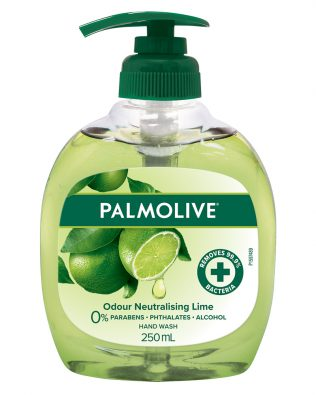 Palmolive Odour Neutralising Lime Liquid Hand Wash 250ml