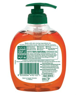 Palmolive Orange Liquid Hand Wash 250ml