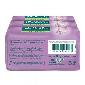 Palmolive White & Smooth Bar Soap Valuepack 80g x 3