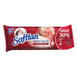Softlan Aroma Therapy Passion (Red) Fabric Softener 500ml Refill Concentrate Pouch