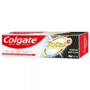 Colgate Total Toothpaste (Charcoal Deep Clean)- 150g