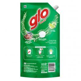 Glo Active Foam Lime Dishwashing Liquid 850ml Refill