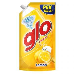 Glo Active Foam Lemon Dishwashing Liquid 850ml Refill