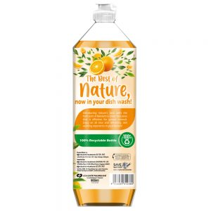 Glo Nature Mandarin & Green Tea Leaves Dishwashing Liquid 900ml