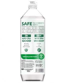 Glo Pure & Clear Aloe Vera Dishwashing Liquid 900ml