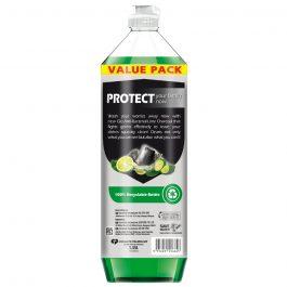 Glo Active Foam Lime Charcoal Dishwashing Liquid 1.35L