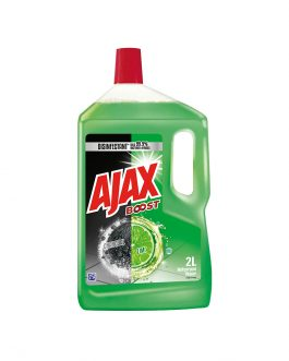 Ajax Boost Charcoal & Lime 2L