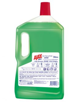 Ajax Fabuloso Lime Charcoal Multi Purpose Cleaner 3L