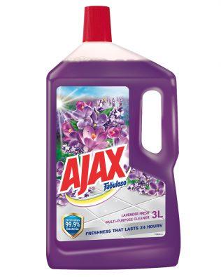 Ajax Fabuloso Lavender Multi Purpose Cleaner 3L