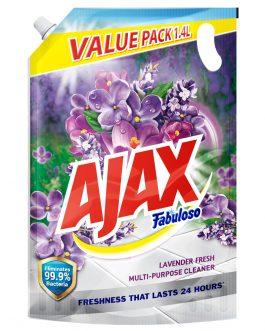 Ajax Fabuloso Lavender Multi Purpose Floor Cleaner 1.4L Refill
