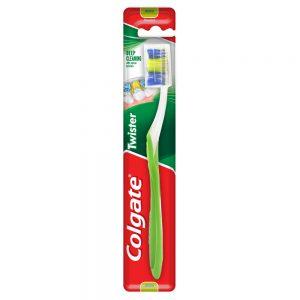Colgate Twister Toothbrush 1s (Medium)