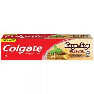 Colgate Kayu Sugi Original Toothpaste 75g Travel Sample Trial