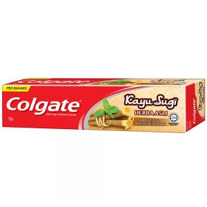 Colgate Kayu Sugi Original Toothpaste 75g Travel Sample Trial