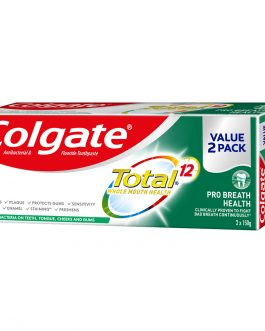 Colgate Total Toothpaste Valuepack 150g x 2 (Pro Breath Health)