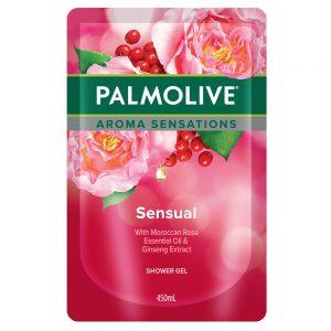 Palmolive Aroma Sensation Sensual Shower Gel 450ml Refill