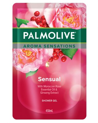 Palmolive Aroma Sensation Sensual Shower Gel 450ml Refill