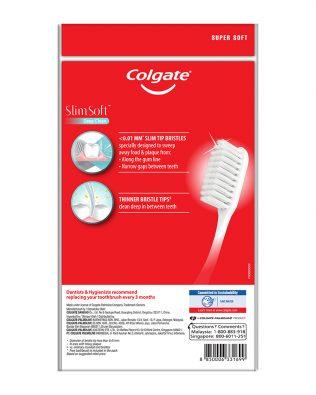 Colgate SlimSoft Deep Clean Toothbrush Valuepack 3s (Super Soft)