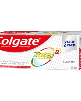 Colgate Total Toothpaste Valuepack 150g x 2 (Clean Mint)